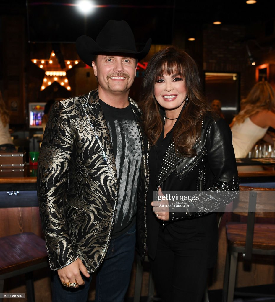 John Rich and Marie Osmond attend the Redneck Riveria VIP grand opening hosted by John Rich and friends on February 16, 2017 in Las Vegas, Nevada.