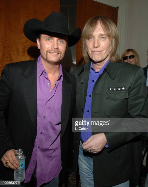 John Rich and Tom Petty during ASCAP EXPO April 2022 2006 in Hollywood CA United States