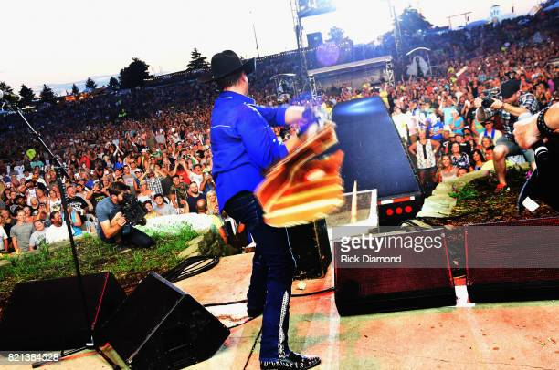 John Rich of Big and Rich performs during Country Thunder Day 4 on July 23 2017 in Twin Lakes Wisconsin