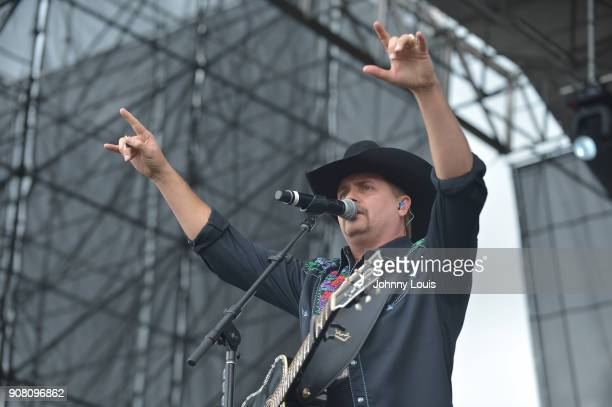 John Rich of Big Rich performs onstage at the 33rd Annual Kiss 999 Chili Cookoff at CB Smith Park on January 20 2018 in Pembroke Pines Florida