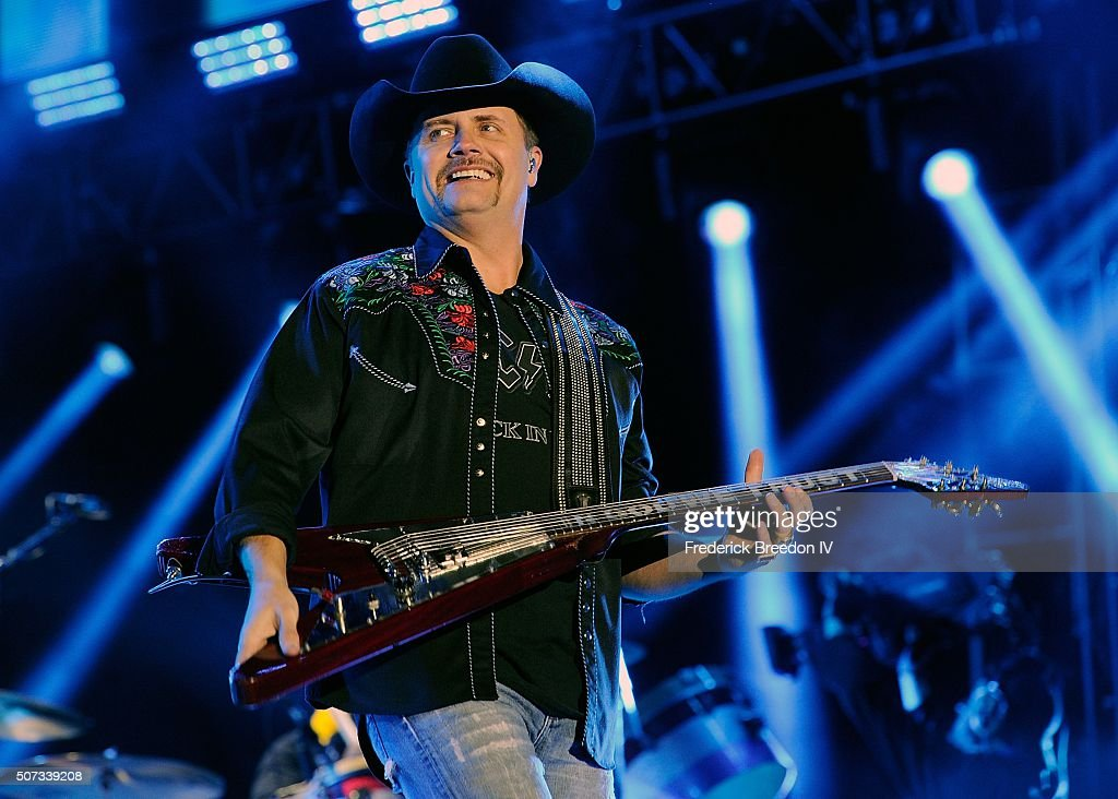 John Rich of the band Big and Rich performs at the Bridgestone Winter Park Honda Stage at IntelliCentrics Outdoor Concert Series on January 28, 2016 in Nashville, Tennessee.