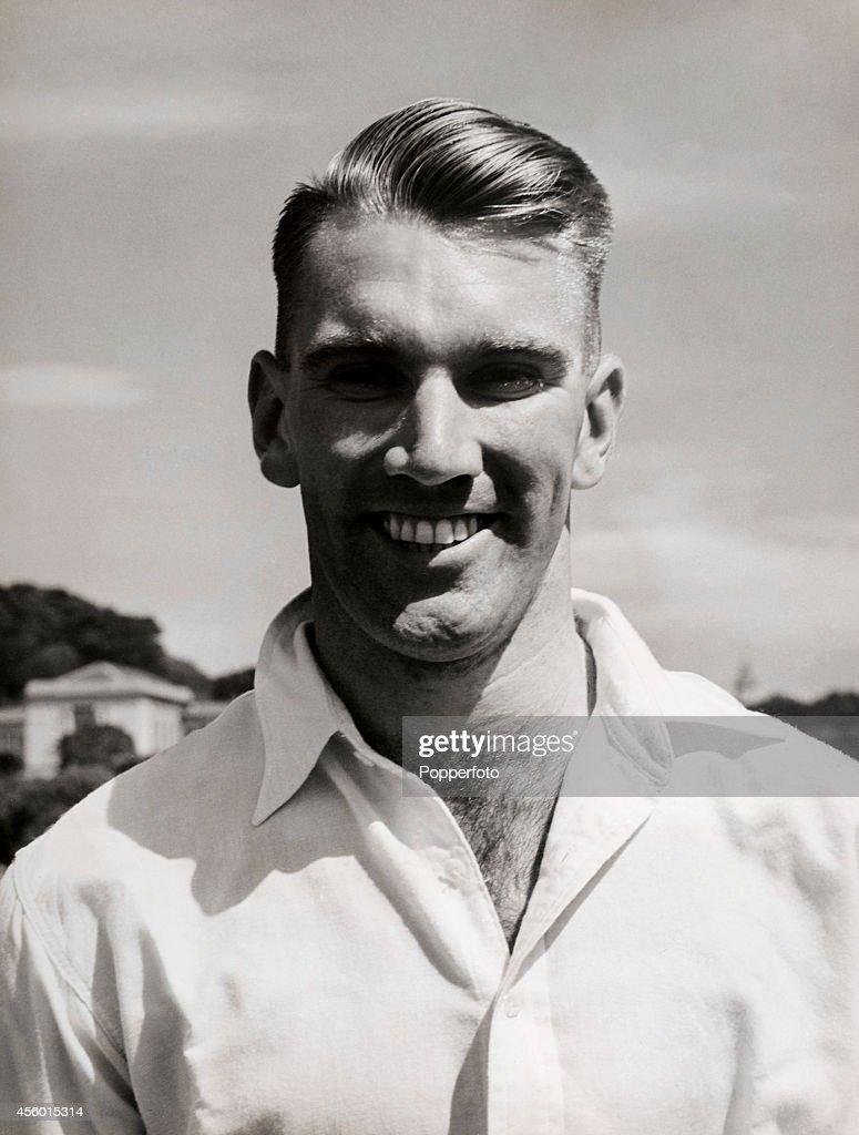 John Reid - New Zealand Cricketer : News Photo