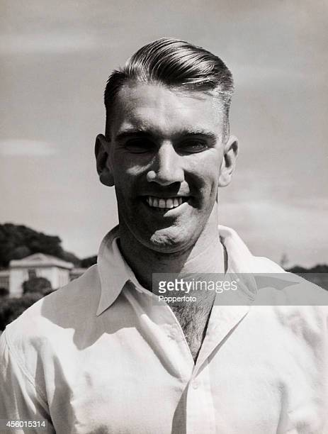 John Richard Reid captain of the New Zealand cricket team in 34 Tests circa 1948