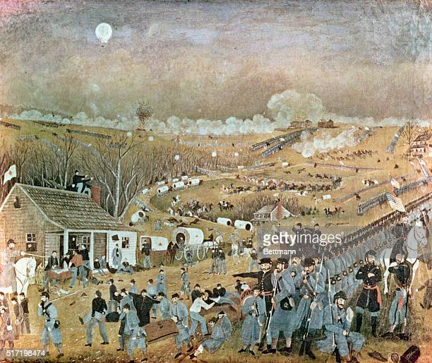 Painting of the Battle of Gettysburg July 13 1863