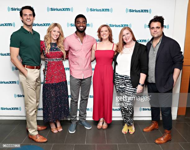 John Riddle Caissie Levy Jelani Alladin Patti Murin Julie James and Greg Hildreth take part as SiriusXM on Broadway presents 'Curtain Call with...