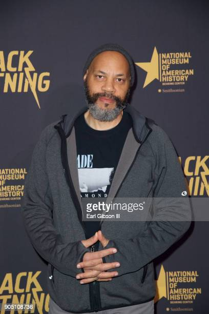 John Ridley Executive Producer attends 'Black Lightning' World Premiere at National Museum Of African American History Culture on January 13 2018 in...