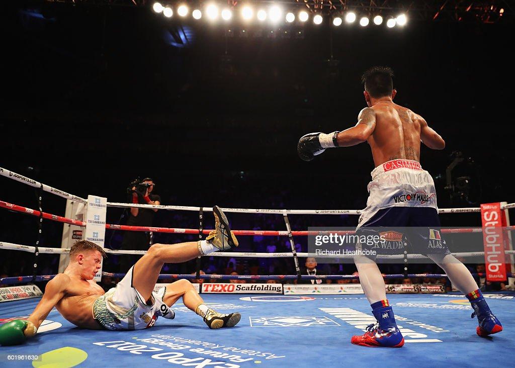 Boxing at O2 Arena : News Photo