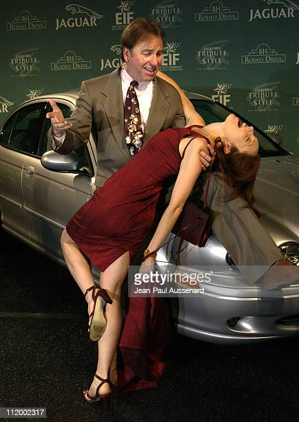 John Ritter Amy Yasbeck during Jaguar's Tribute to Style on Rodeo Drive Benefit at Rodeo Drive in Beverly Hills California United States