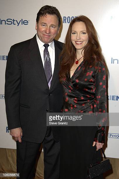 John Ritter Amy Yasbeck during Producer Brad Grey Honored at Project ALS Friends Finding A Cure at Regent Beverly Wilshire Hotel in Beverly Hills...