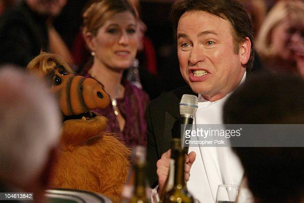John Ritter and Alf during The TV Land Awards Celebration of Classic TV at Hollywood Palladium in Hollywood CA United States