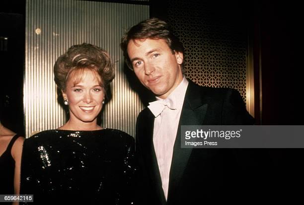 John Ritter and wife Nancy circa 1983 in New York City