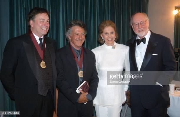 John Ritter Dustin Hoffman Cyd Charisse and John Williams