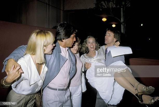 John Ritter, Nancy Ritter, Tony Danza and Jill Whelan