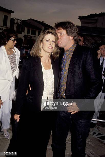 John Ritter Pam Dawber during Stay Tuned Hollywood Screening August 13 1992 at Mann's Village Theatre in Westwood California United States