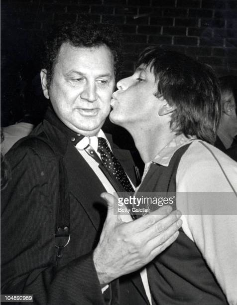 John Ritter Ron Galella during Screening of 'Angel Dusted' at Director's Guild in Los Angeles CA United States