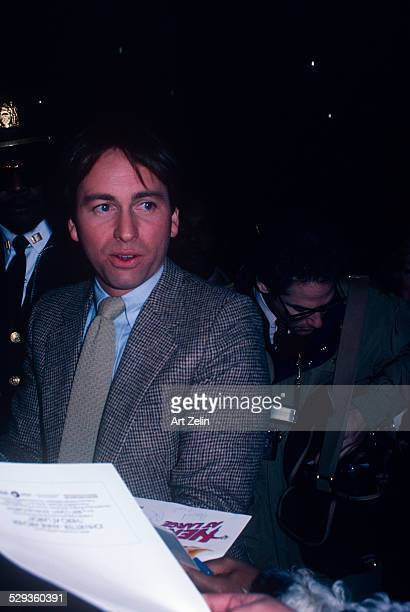 John Ritter signing autographs circa 1970 New York