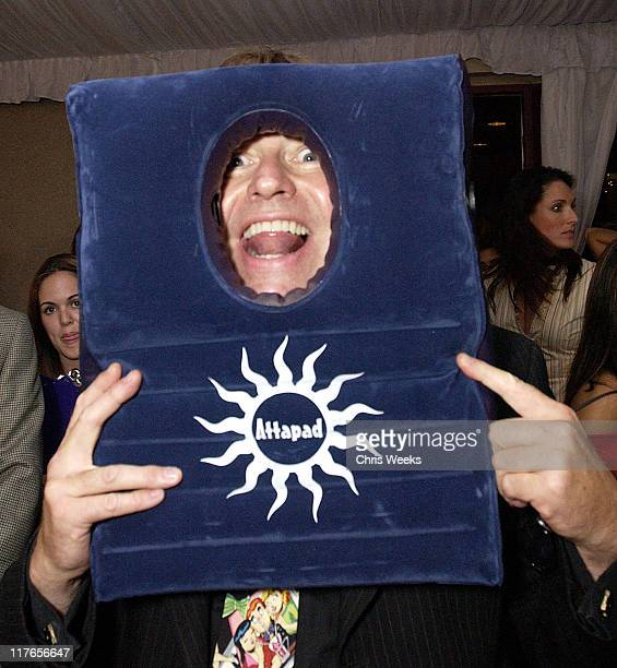 John Ritter visits Attapad during 2003 Teen Choice Awards Backstage Creations Day of Show at Universal Amphitheatre in Universal City California...