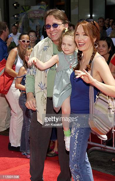 John Ritter wife Amy Yasbeck daughter during 'The Country Bears' Premiere at El Capitan Theatre in Hollywood California United States