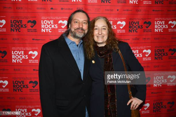 John Robblee and Alyson MoadelRobblee attend Love Rocks NYC PreConcert Cocktail Party at CESCA Restaurant on March 7 2019 in New York City