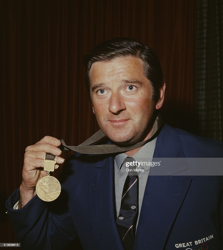 John Robert Rob Braithwaite of Great Britain and the 1968 Mexico Summer Olympic Games trap shooting gold medal winner on 30th October 1968 in London, Great Britain.
