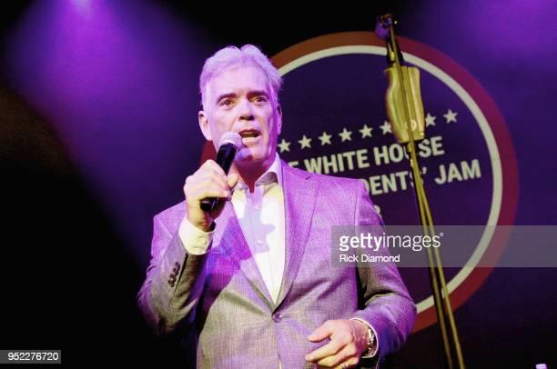 John Roberts Fox News White House Correspondent MC's Mother Nature Network Presents White House Correspondents' Jam IV on April 27 2018 at The...