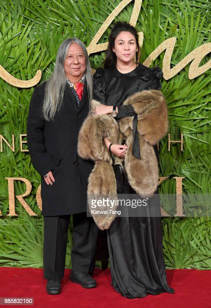 John Rocha attends The Fashion Awards 2017 in partnership with Swarovski at Royal Albert Hall on December 4 2017 in London England