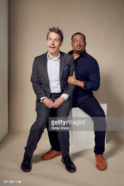 John Ross Bowie and Cedric Yarbrough of ABC's 'Speechless' pose for a portrait during the 2018 Summer Television Critics Association Press Tour at...