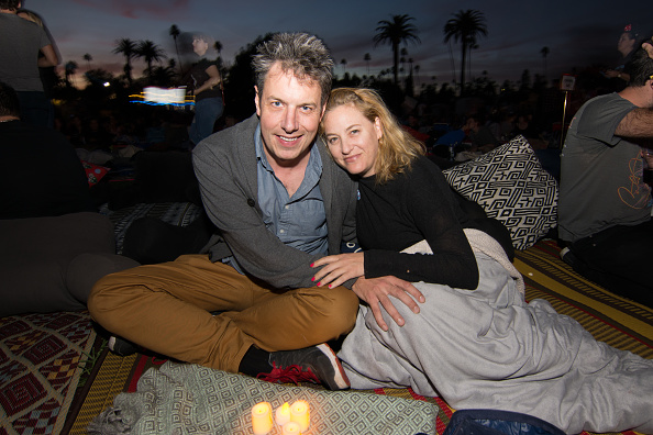 John Ross Bowie with beautiful, Wife Jamie Denbo