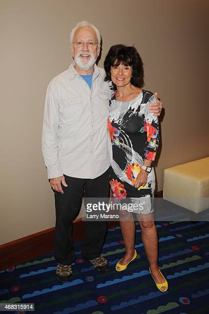 John Rubinstein and Adrienne Barbeau attend the Pippin Media Preview at Broward Center For The Performing Arts on April 1 2015 in Fort Lauderdale...