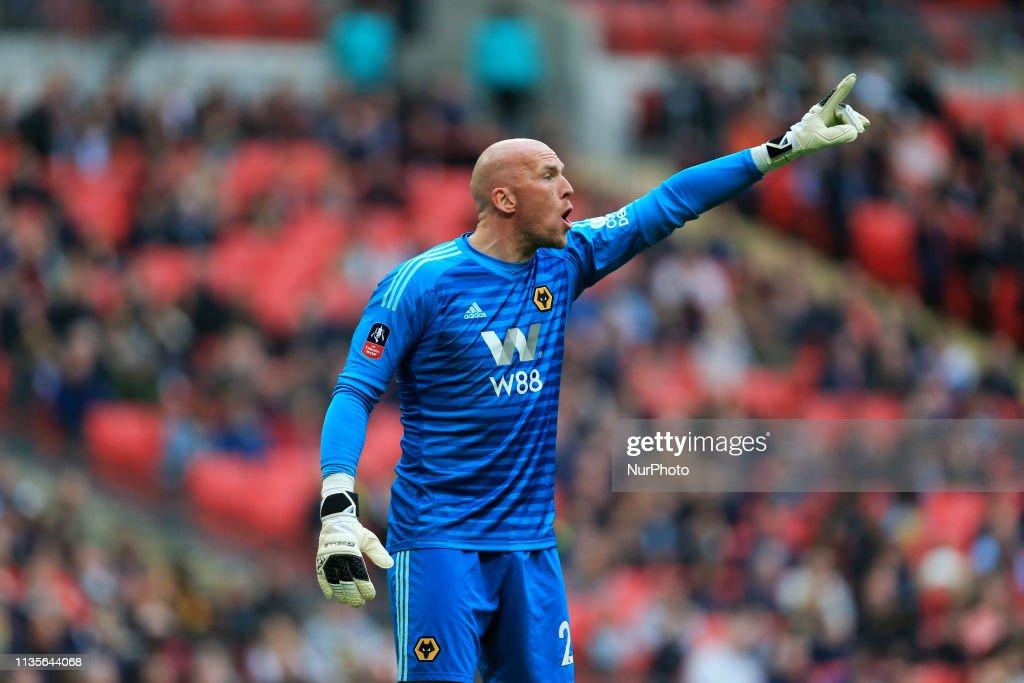 Watford v Wolverhampton Wanderers - FA Cup Semi Final : Foto jornalística