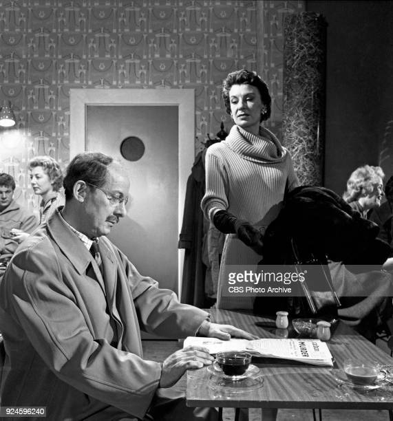 John Rudling and Patricia Jessel star in an episode of the CBS Television program The Invisible Man The episode is titled Point of Destruction which...