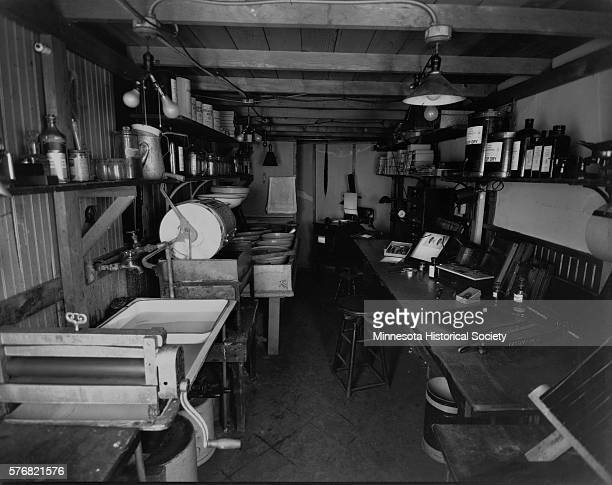 John Runk S Darkroom In His Stillwater Minnesota On September 23rd 1938 Location