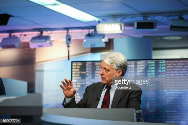 John Ryding cofounder and chief economist of RDQ Economics LLC speaks during a Bloomberg Television interview in New York US on Wednesday Sept 20...