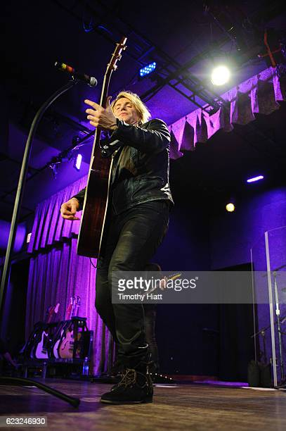 John Rzeznik of Goo Goo Dolls performs a private concert for Sirius XM at City Winery on November 14 2016 in Chicago Illinois