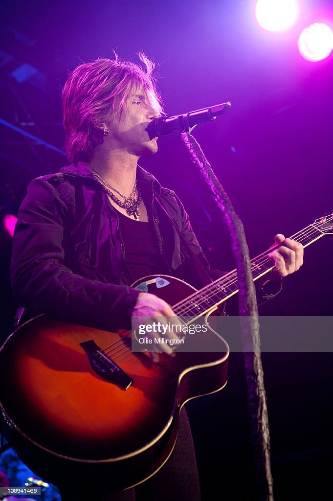 John Rzeznik of Goo Goo Dolls performs on stage at O2 Academy on November 17, 2010 in Leicester, England.