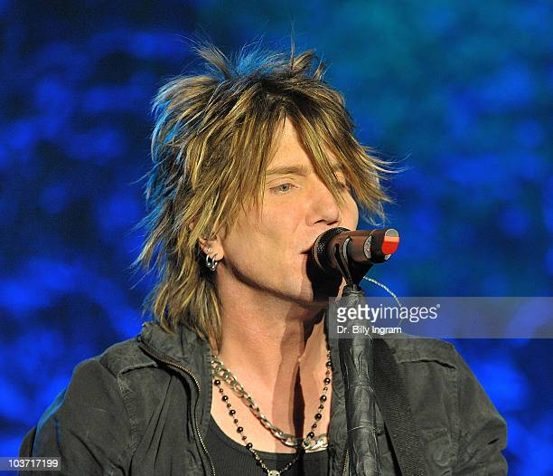 John Rzeznik of the Goo Goo Dolls performs in concert at the Greek Theatre on August 29 2010 in Los Angeles California