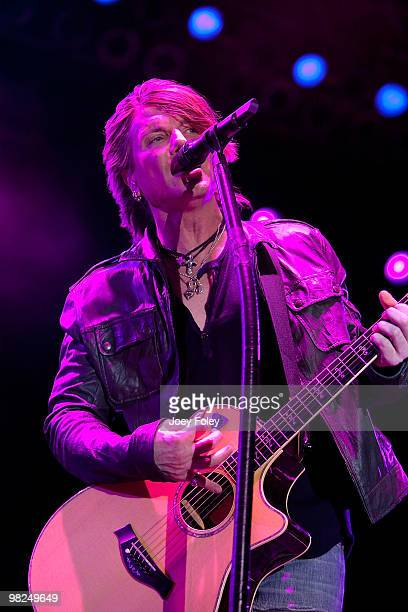 John Rzeznik performs during day 3 of the free NCAA 2010 Big Dance Concert Series at White River State Park on April 4 2010 in Indianapolis Indiana