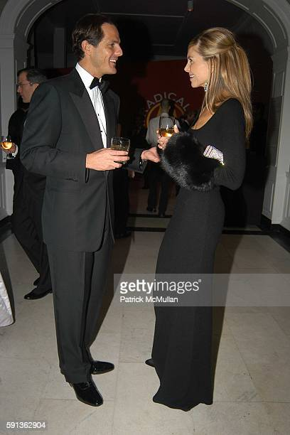 John Safro and Whitney Casey attend The Director's Council of the Museum of the City of New York Winter Ball Sponsored by Yves Saint Laurent at...