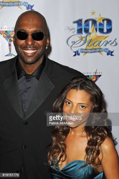 John Salley and Natasha Duffy attend A Night Of 100 Stars at Beverly Hills Hotel on March 7 2010 in Beverly Hills California