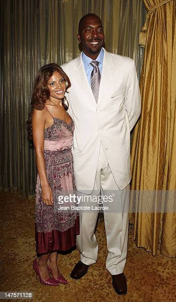 John Salley and wife Natasha Duffy Salley during Phase One on The Road to Curing Cancer 8th Annual Gala Maxine Nightingale Rocks A Night at the...