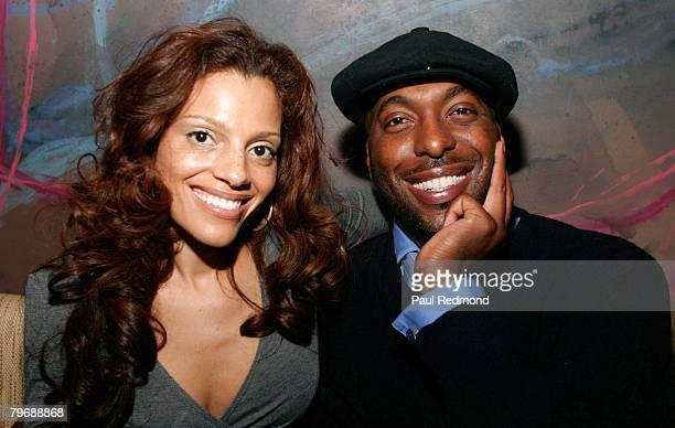 John Salley and wife Natasha
