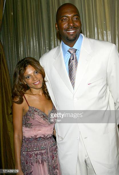 John Salley and wife Natasha Salley during Phase One on The Road to Curing Cancer 8th Annual Gala Maxine Nightingale Rocks A Night at the Casbah at...
