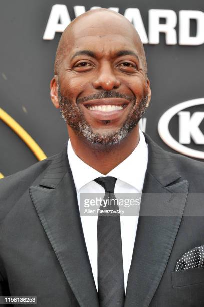 John Salley attends the 2019 NBA Awards at Barker Hangar on June 24 2019 in Santa Monica California