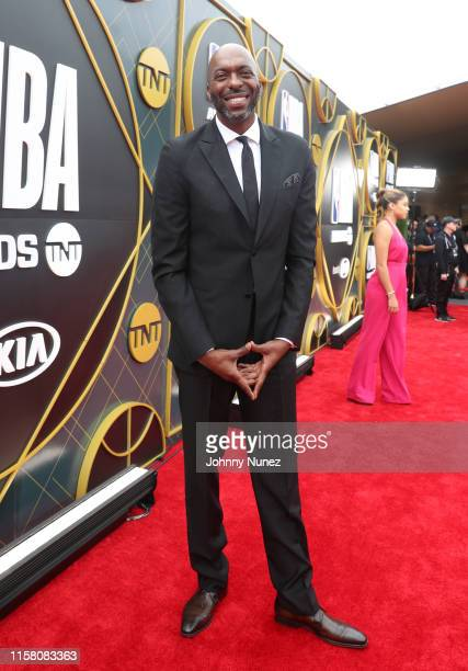 John Salley attends the 2019 NBA Awards presented by Kia on TNT at Barker Hangar on June 24 2019 in Santa Monica California