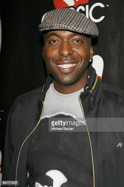 John Salley attends the VH1 Classic Rock Autism Celebrity Bowl Off charity event held at the Lucky Strikes Lanes bowling alley on November 13 2008 in...