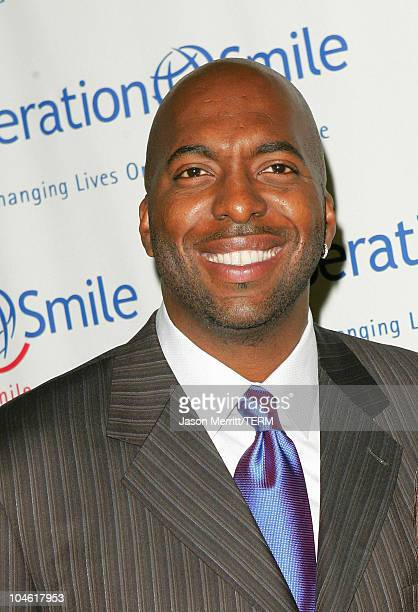 John Salley during Operation Smile 4th Annual Los Angeles Gala at Regent Beverly Wilshire Hotel in Los Angeles, California, United States.