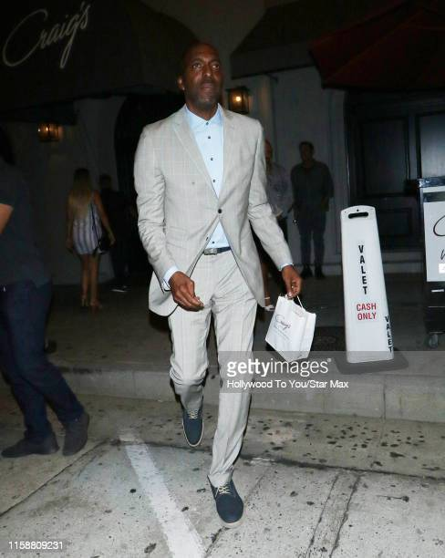 John Salley is seen on July 30 2019 at Los Angeles