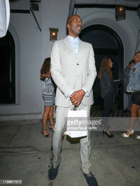 John Salley is seen on July 30 2019 in Los Angeles California