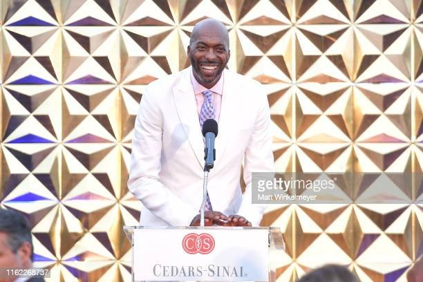 John Salley speaks onstage during the 34th Annual CedarsSinai Sports Spectacular at The Compound on July 15 2019 in Inglewood California