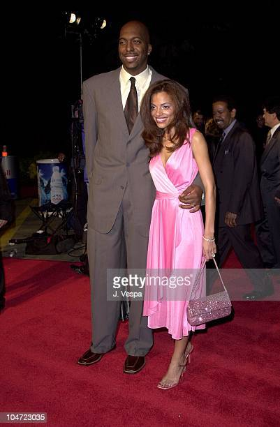 John Salley wife Natasha during The 32nd Annual NAACP Image Awards Music at Universal Amphitheatre in Universal California United States
